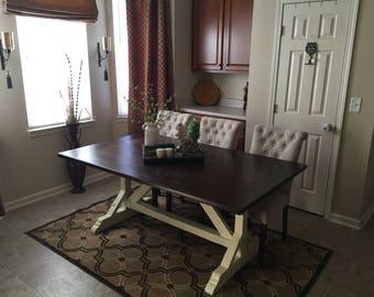 Traditional Farmhouse Table