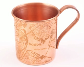 Copper Boston Mule Mug