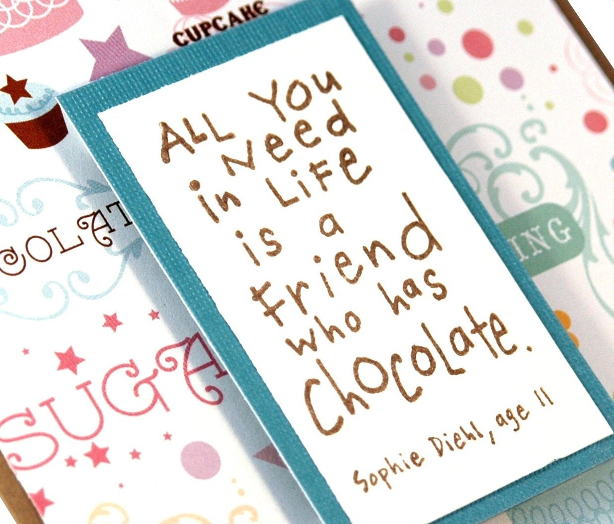 Card thinking of you card handmade greeting card zoom kristyandbryce Image collections