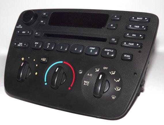 Ford Taurus Radio 2004 To 2007 Am Fm Cd W Aux Input 35 Mmrhetsy: 2004 Ford Ranger Radio With Aux At Gmaili.net