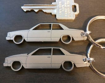 G-Body Malibu Coupe 2 door Laser Cut Keychains