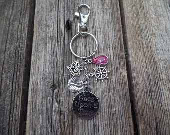 Once Upon a Time Inpsired Keychain