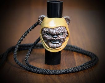 The Ewok. Mouthpiece for hookah .Star wars