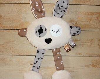 cuddly soft fleece Bunny rabbit plush