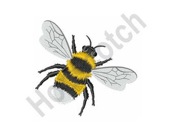 Bumble Bee - Machine Embroidery Design