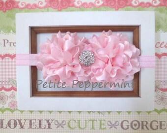 Pink Baby Headband, baby girl headband, Pink toddler headband,Pink Baby Girl Headband,Pink Baby Flower Headband