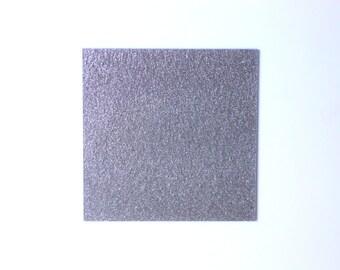 3mm Silver light glitter acrylic perspex sheet 600x370 mm