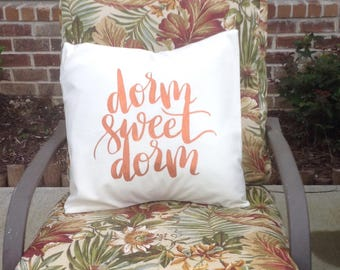 Decorative College/Dorm Pillow Cover