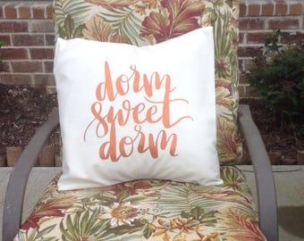 Decorative College/Dorm Pillow Cover