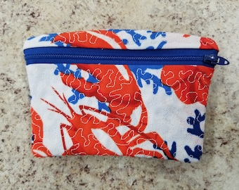 Lobster coin/change/card purse