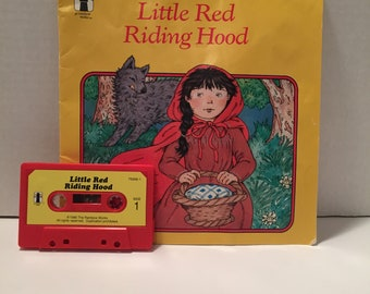 The Little Red Riding Hood Audio cassette tape and book