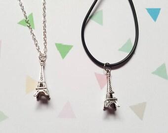 Eiffel tower necklace, Eiffel tower pendant, Pendant necklace, Eiffel tower, France, French, Paris, Landmark, Sightseeing, Travel, Adventure