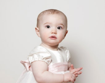 Christening Gown 'Princess' by Adore Baby.  Baptism Gown, Christening Dress, Christening Outfit for Girls.