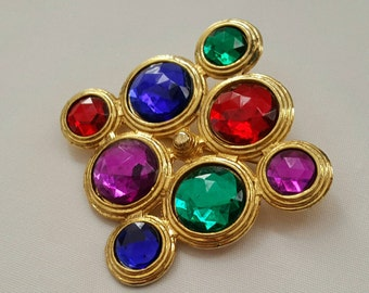 Colorful Designer Style Pin