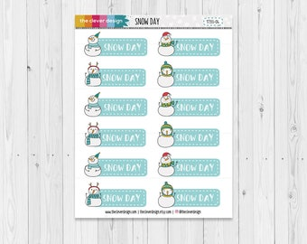 Snow Day Planner Stickers | 17355-04