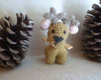 Amigurumi little reindeer Christmas