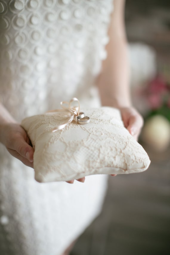Wedding Ring Pillow Ring Bearer Pillow Wedding Pillow