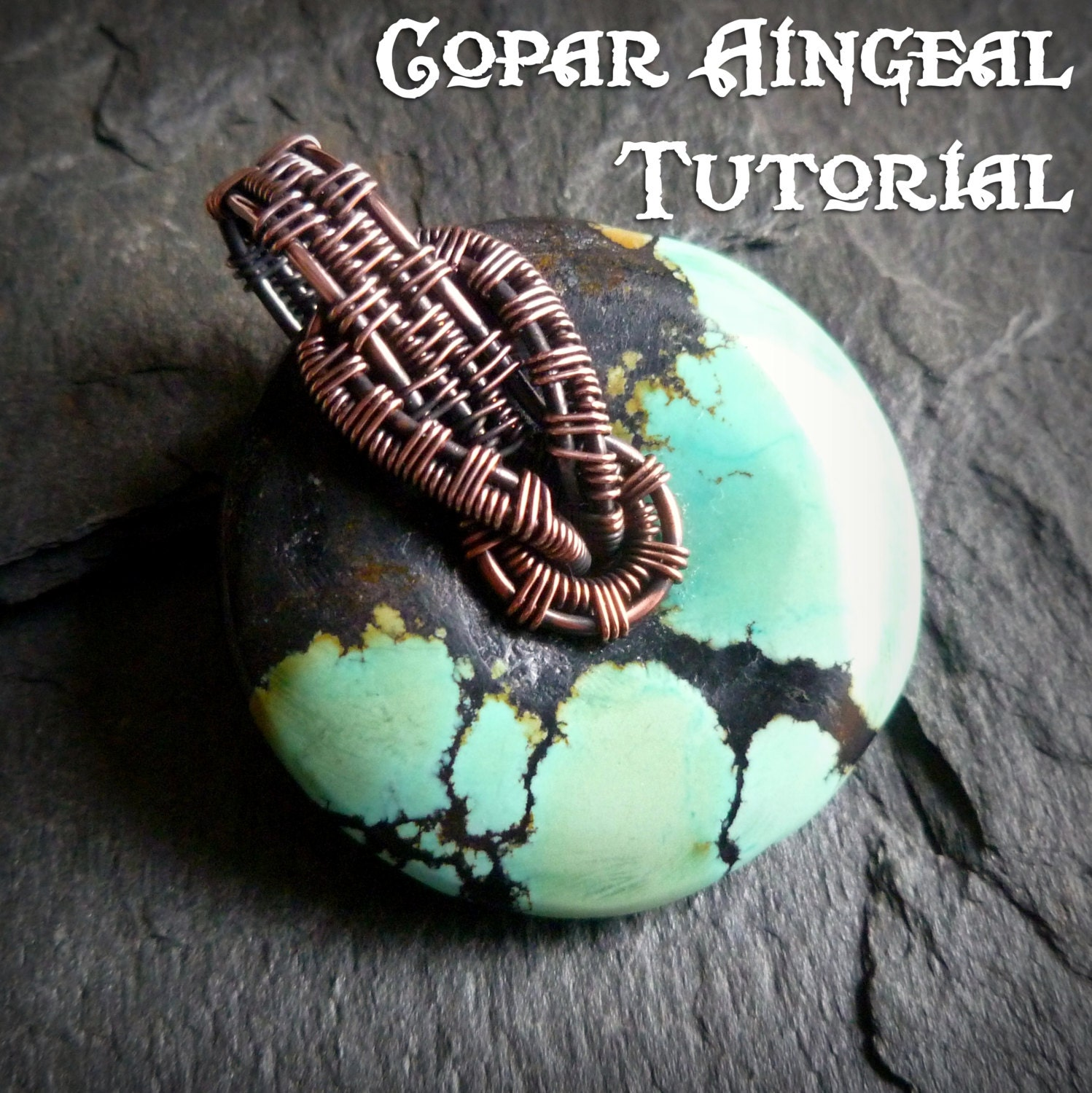 Tutorial interlock bail wrap pendant lesson wire wrapped zoom aloadofball Image collections