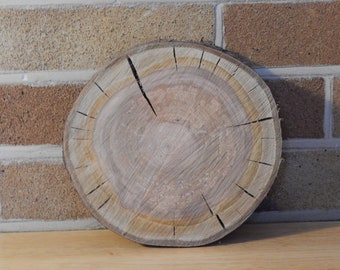 Solid Natural Cherry Wood Trivet, Wooden Slabs Display, Table Protection for Hot Pans