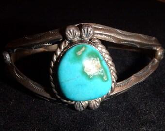 Old Southwestern Cuff Bracelet