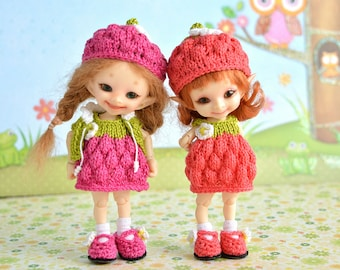 Pre-order Realpuki Lati White sweet berry and fruit outfits