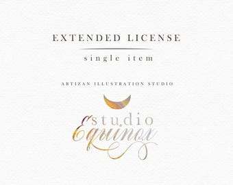 Extended License : StudioEquinox - Single item license