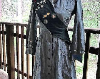 Vintage 40's Girl Scout Uniform