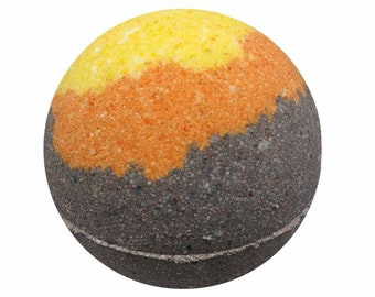 Mad About You Bath Bomb, Bath Fizzy, Handmade Spa Product, Epsom Salts, Hydrating Coconut Oil, Sensitive Skin, Great Gift for Her
