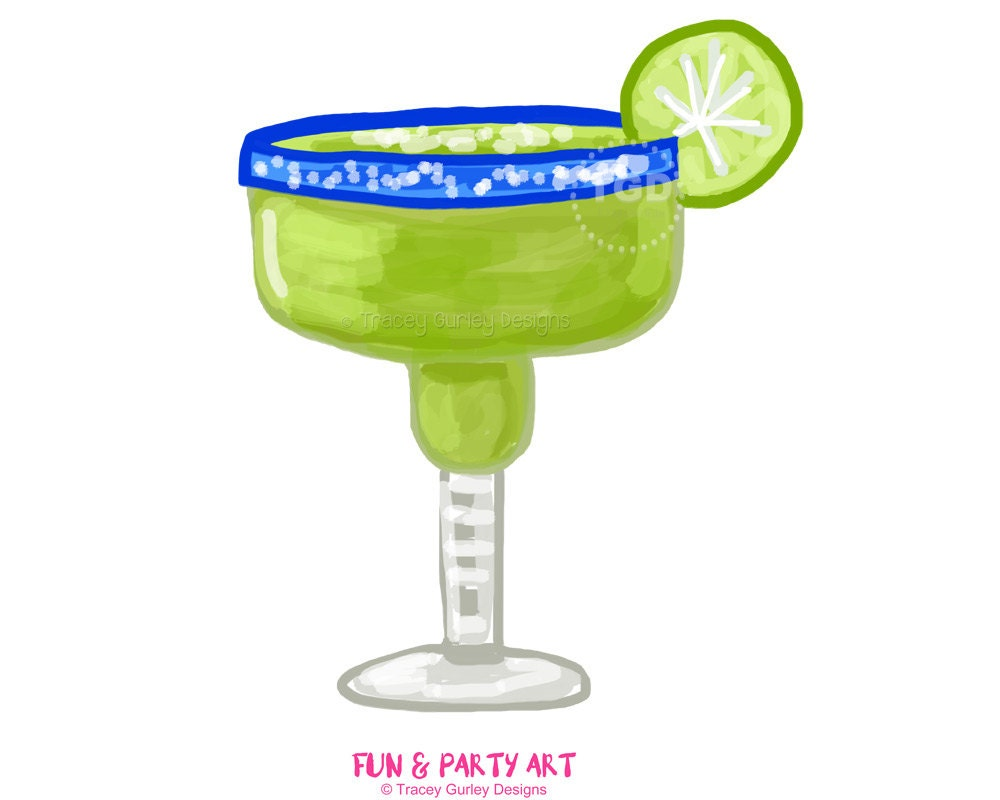 margarita clipart margarita glass invitation art watercolor rh etsy com margarita clipart margarita clipart black and white