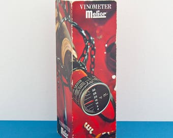 Vintage wine thermometer - Melior Thermometer - Swiss made - Gift for wine lover