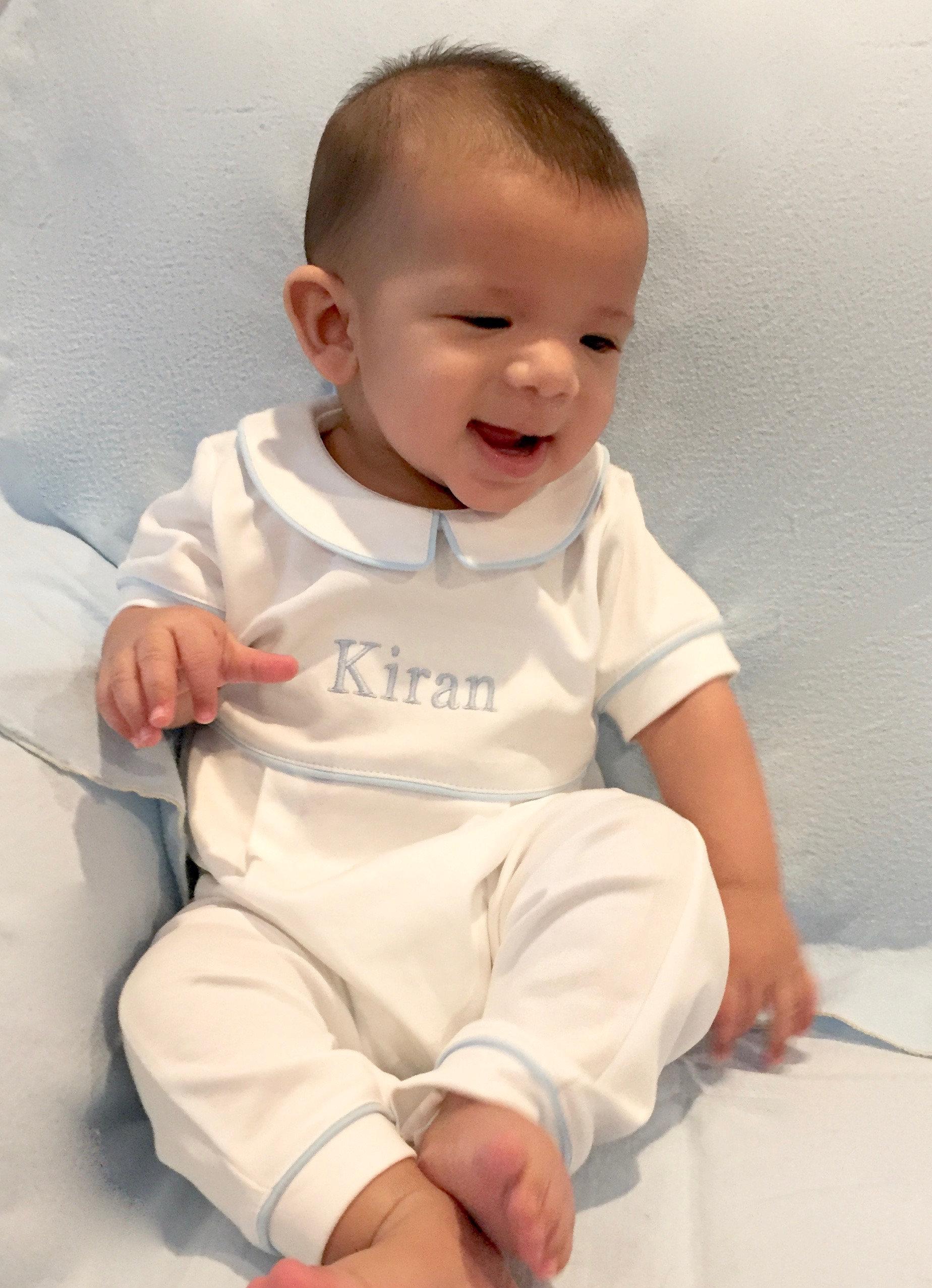 Kiran s Short Sleeve Long PantsNo Footie Outfit ing