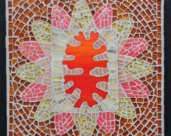 Mosaic art , mosaic panel