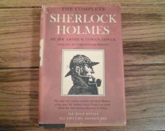 The Complete Sherlock Holmes 1927 Four Novels/56 Adventures SIr Arthur Conan Doyle Doubleday & Co Classic Literature Hound of Baskervilles