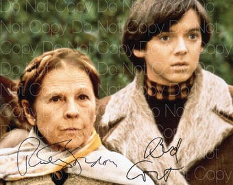 Harold and Maude signed Bud Cort Ruth Gordon 8X10 photo picture autograph poster RP