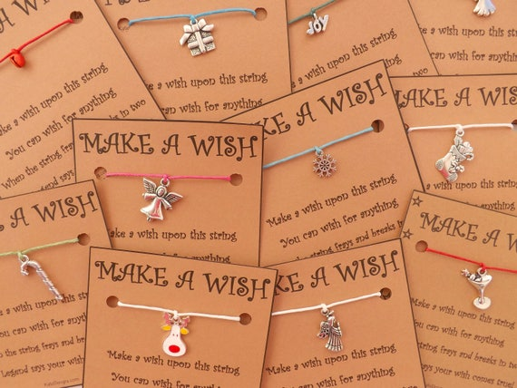 200+ Christmas Mix Wish Bracelets