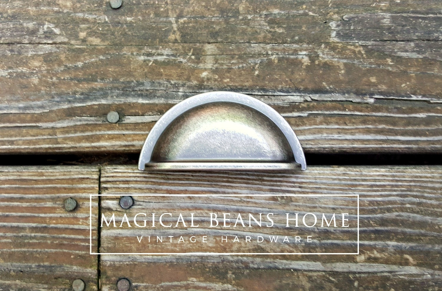 Apothecary Pulls Matte Black Weathered Nickel Bin Cup Pulls ...