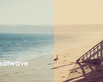 Heatwave - Photoshop Action INSTANT DOWNLOAD
