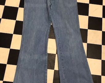 Flares denim - vintage -1970s - sedgrfield
