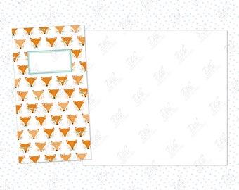 Traveler's Notebook insert Autumn/Fall: Fox