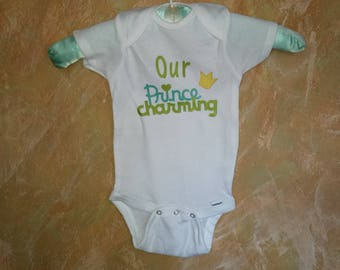 Our prince charming onesie