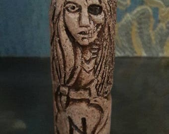 Small Handcrafted Statue of Hel