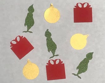 Christmas Grinch Confetti (60 Count)