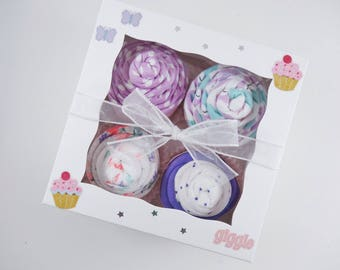 Butterfly Girl Baby Gift 12 piece set Baby gift for Girl 3 month - butterflies - owl