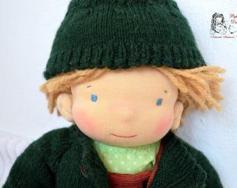 Loli- made to order Waldorf boy doll