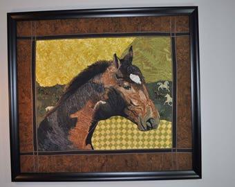 Quilting | horse | Artec unrestrained