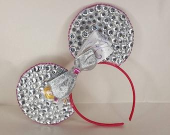 Sparkle Gem Minnie Mouse Inspired Ears