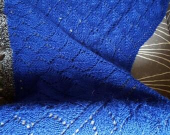 Blue Alpaca Mantle