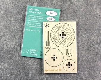 Spark Spinning Top Kit