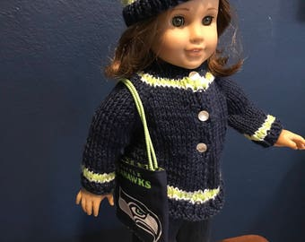 Sweater sets for American Girl Dolls  18 inch doll.
