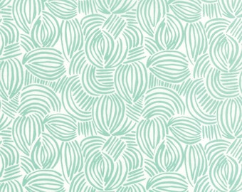 Canyon Geode Aloe Fabric by Kate Spain for Moda Fabrics, One yard